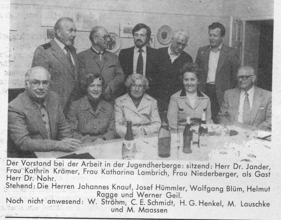 PK Qu-Vence 1978 Vorstand_sw