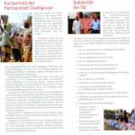 Kurzportrait der Partnerstadt Ouahigouya, Solidarität der Tat