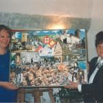 Collage Übergabe von Rolandy Schmidt 2000
