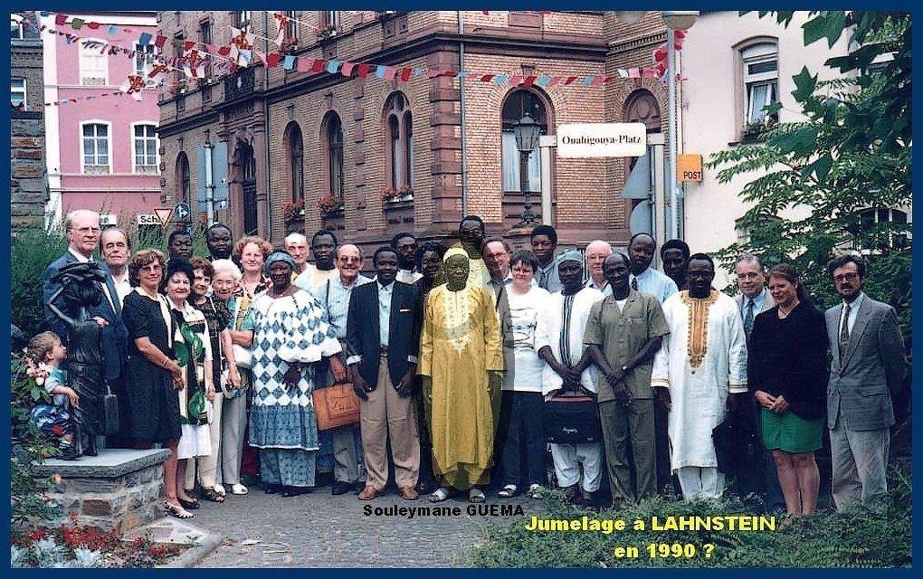 Jumelage à LAHNSTEIN en 1990 peut--être._